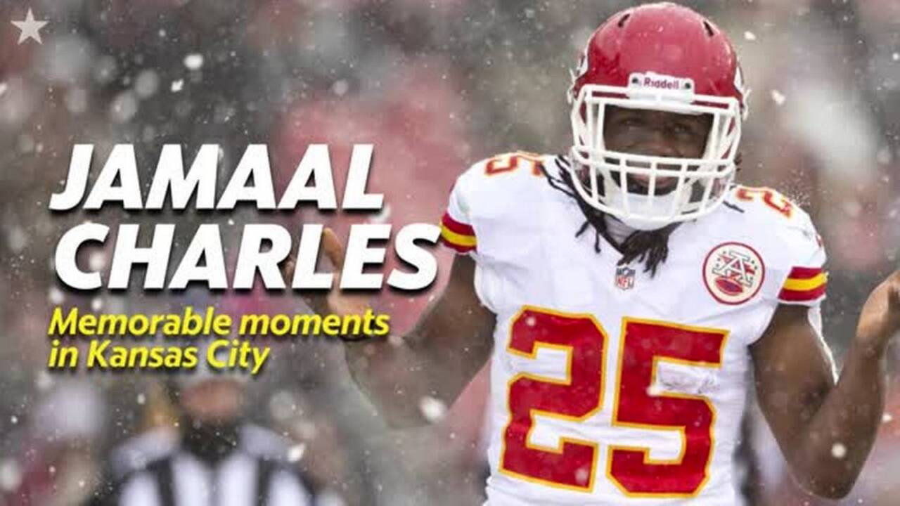 Jamaal Charles has wild tale of wanting to fight Larry Johnson in Chiefs locker room