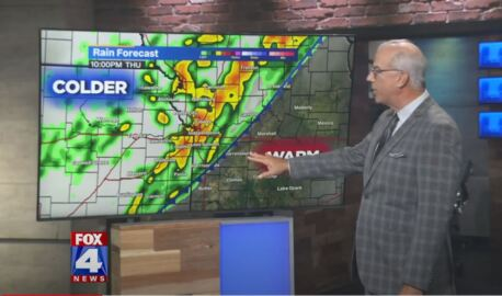 Big changes in the Kansas City weather forecast for Friday and this weekend.