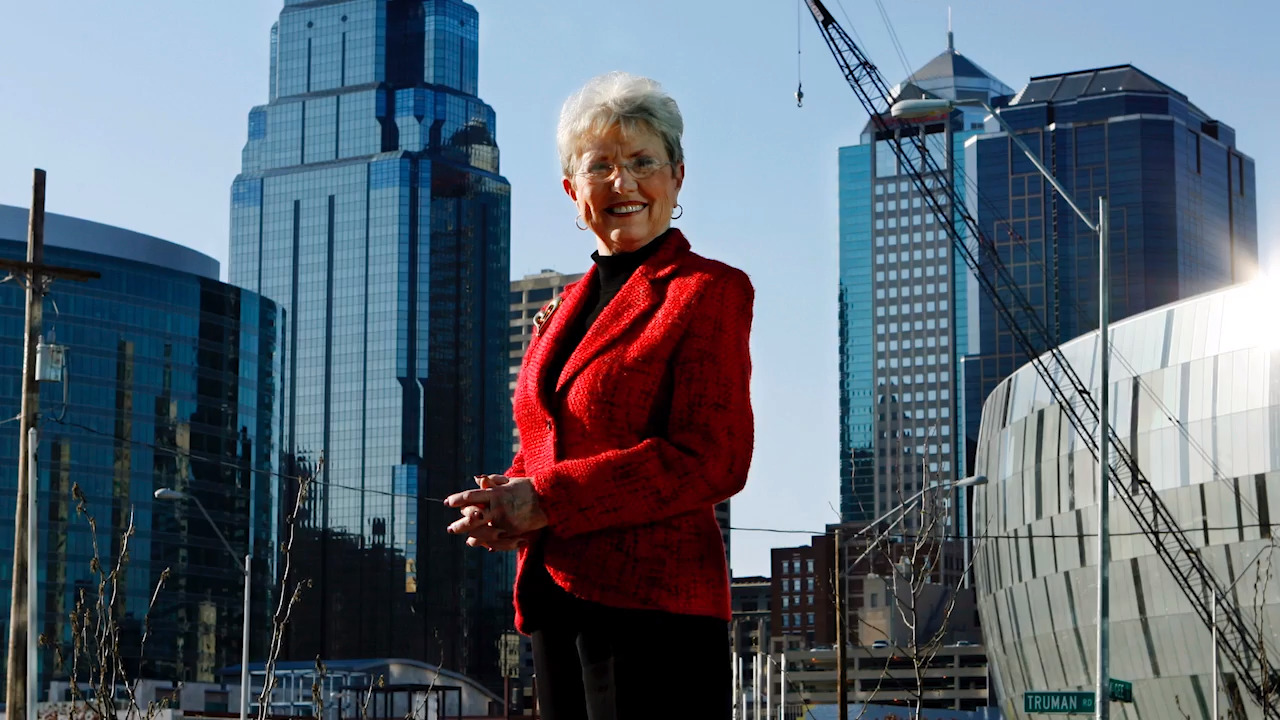 what kay barnes did for kansas city's as its mayor | the kansas city