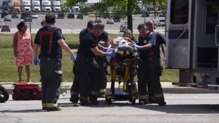 Police say motorcyclist was struck on KC highway, leg severed