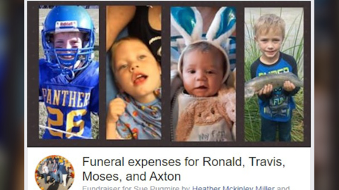 'Hurt our hearts': Kansas town grieves 4 children killed in Thanksgiving Day wreck
