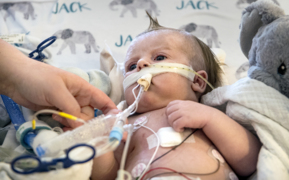 Baby needs a heart-lungs transplant