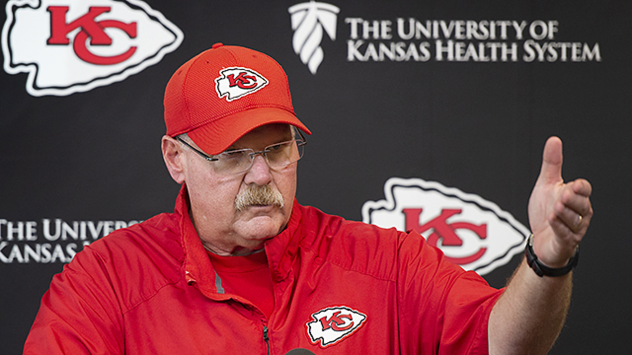 2b09a2906ba Reid, Chiefs coaches collaborate with Mahomes in Denver win | The Kansas  City Star
