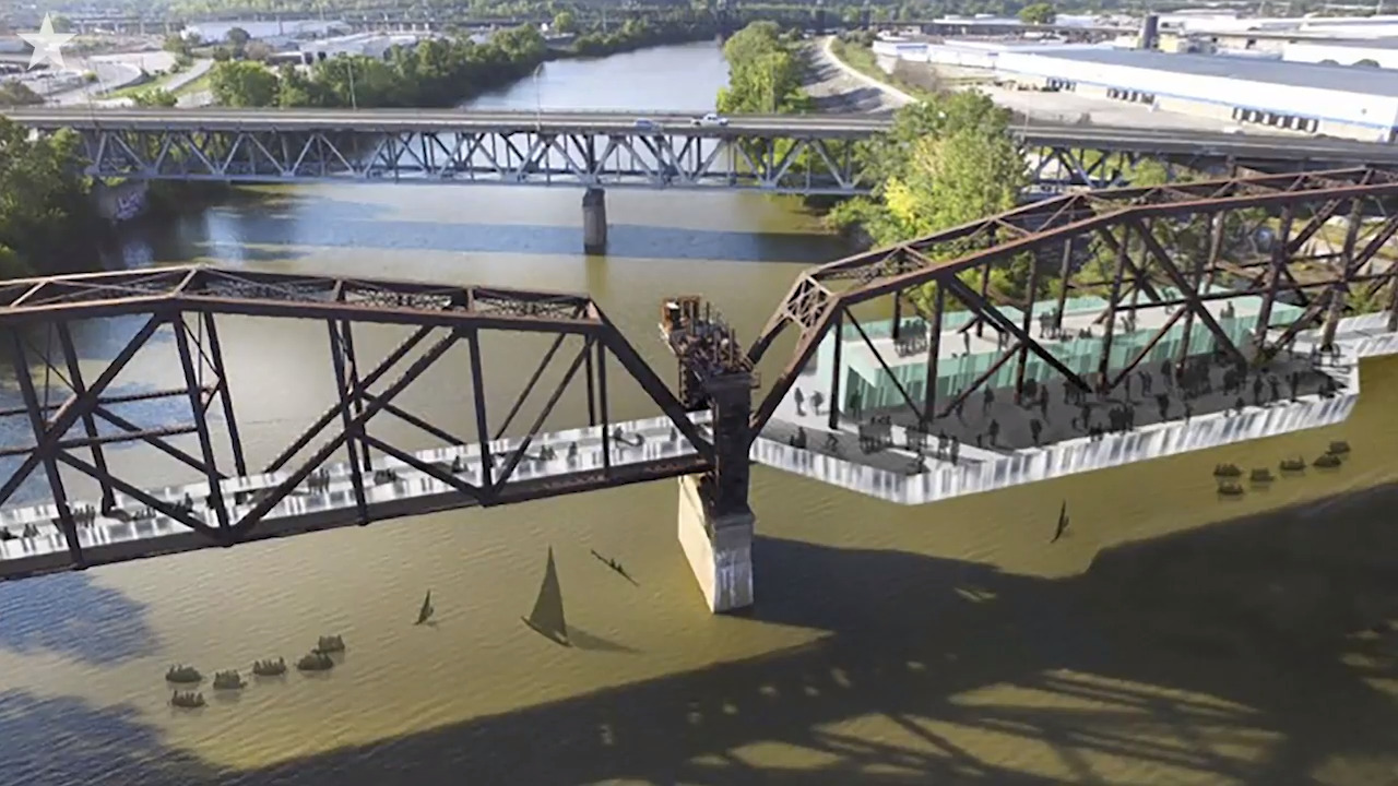 KC's next food hall and events venue could be on a rusty, abandoned river bridge