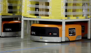 A look at the robotic wonders at Amazon fulfillment center