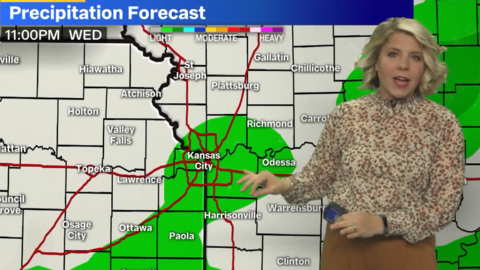 Rain and possibly light snow brewing in KC, but beautiful weather on Election Day