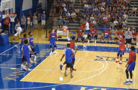 Highlights: KU guard Charlie Moore scores 26 points in scrimmage