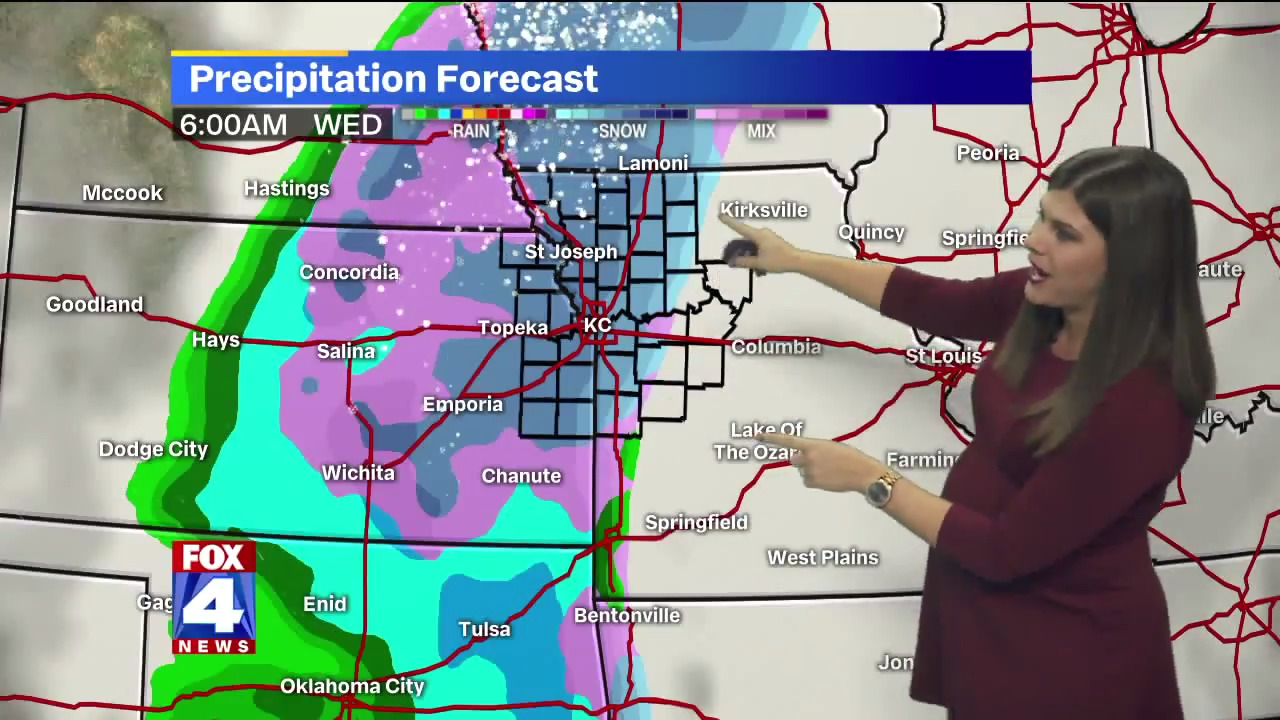 More snow on the way to Kansas City later this week, to be mixed with cold rain