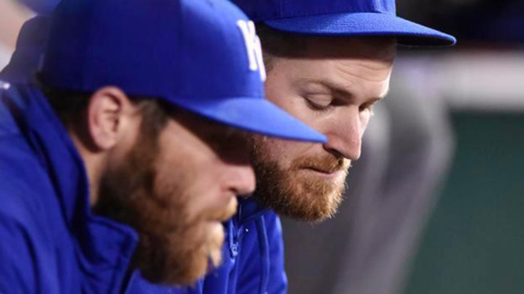 Wade Davis and Greg Holland, together again as Royals, reflect on reunion and bullpen roles