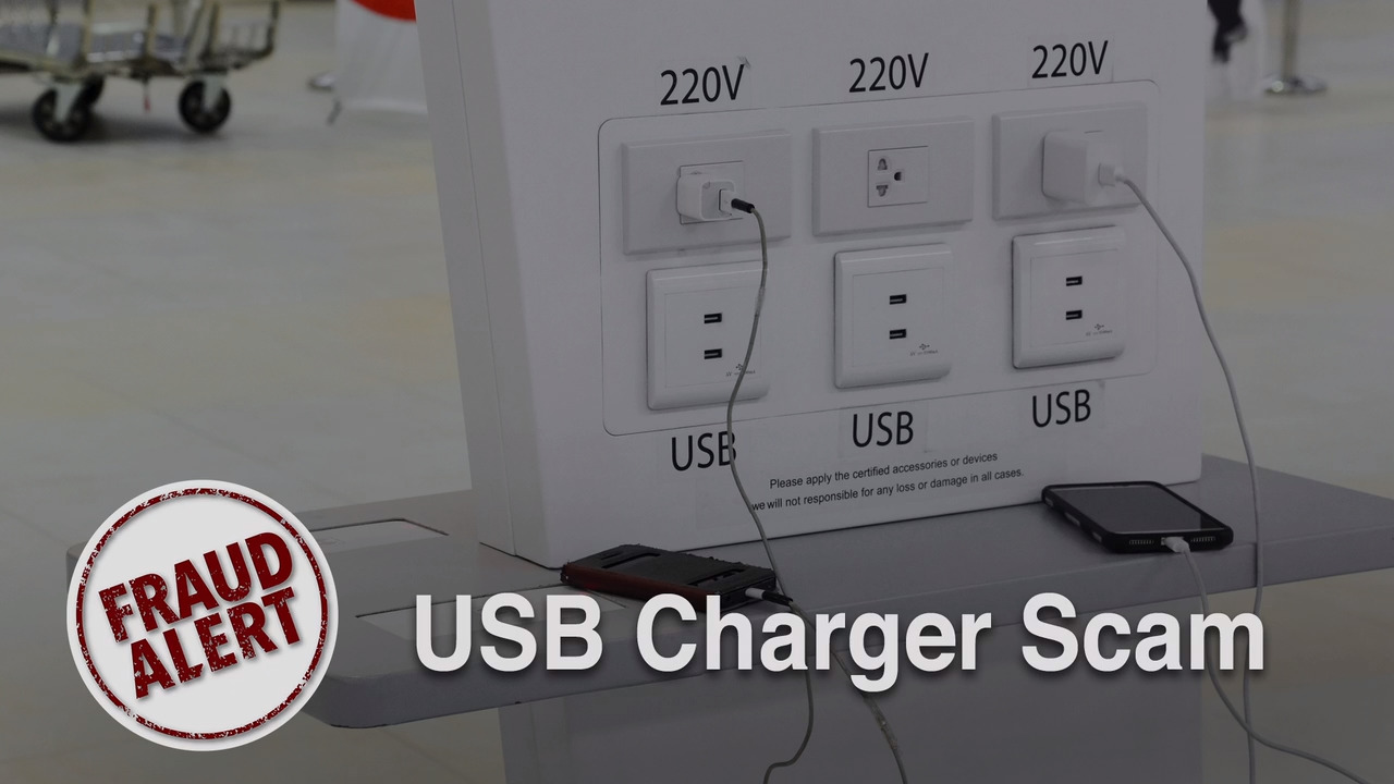 Are phone charging stations safe? Hackers can use them to steal info, officials say