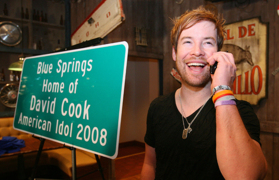 Rewind to 2008: 'American Idol' winner David Cook wants to keep it real