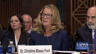Dr. Ford says 'the uproarious laughter' is her strongest memory from the assault