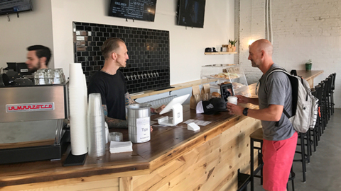 New spot in KC's West Crossroads will soon have plenty brewing: coffee and beer