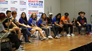 Parkland shooting survivors come to Kansas City during national bus tour