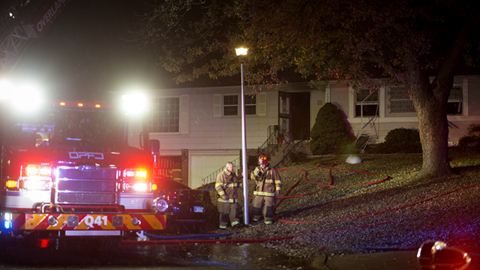 Woman pulled from basement of burning Overland Park house dies from her injuries