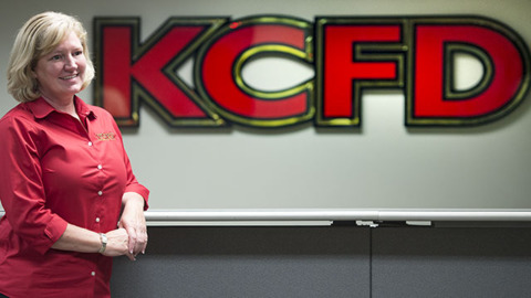 Interim fire chief, first woman to lead KCFD in 150 years, hopes more will follow