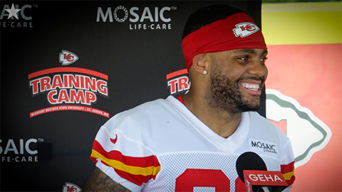 Chiefs' safety Juan Thornhill excited to be a leader on the team