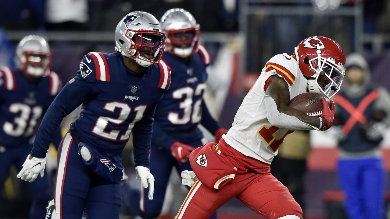 Seven statistics you may have missed from Chiefs' 23-16 win at New England