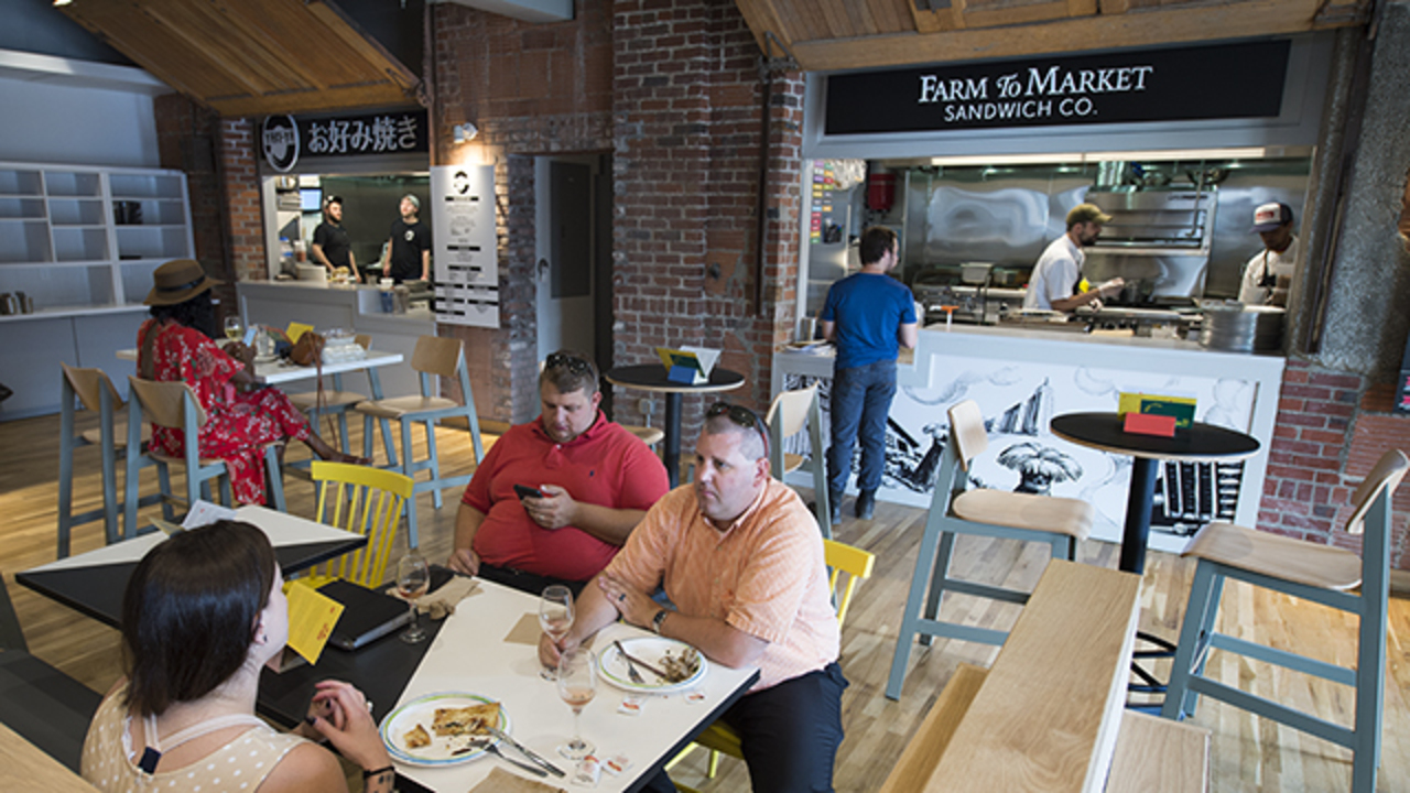 Parlor Food Hall Opens In Downtown Kc With Worldly Vendors