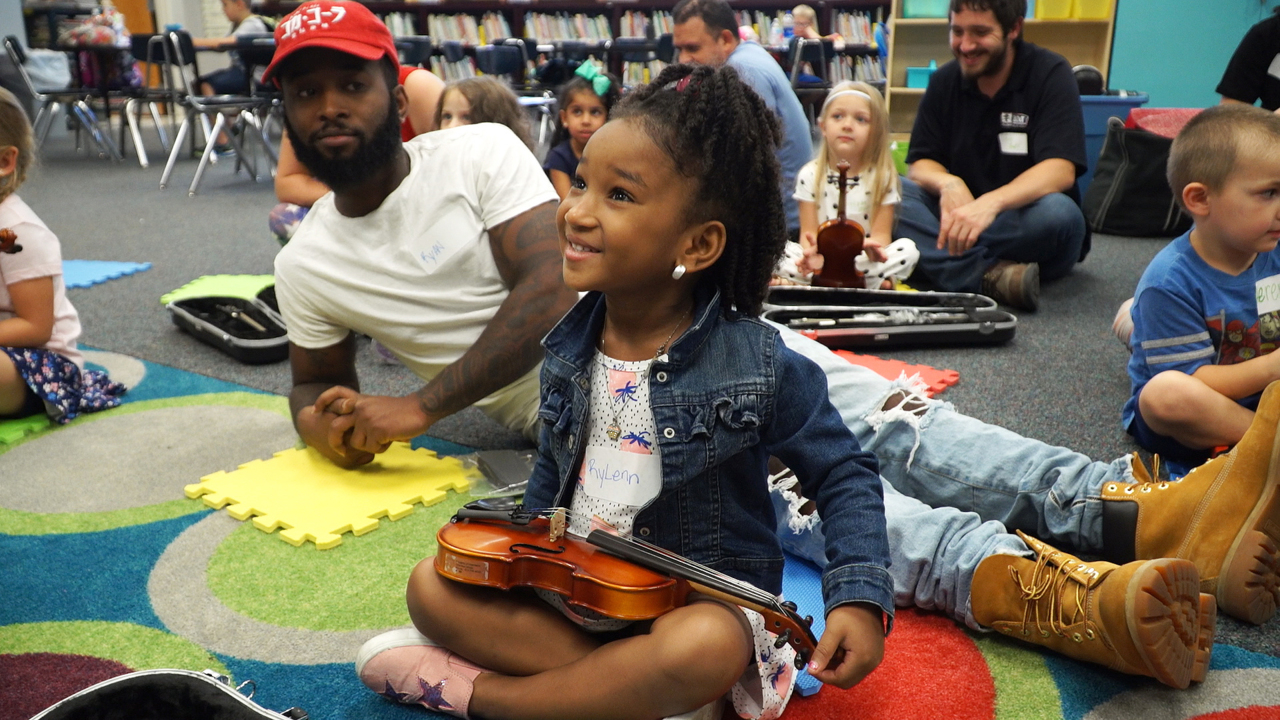 String Sprouts gives kids get free violins and classes   The
