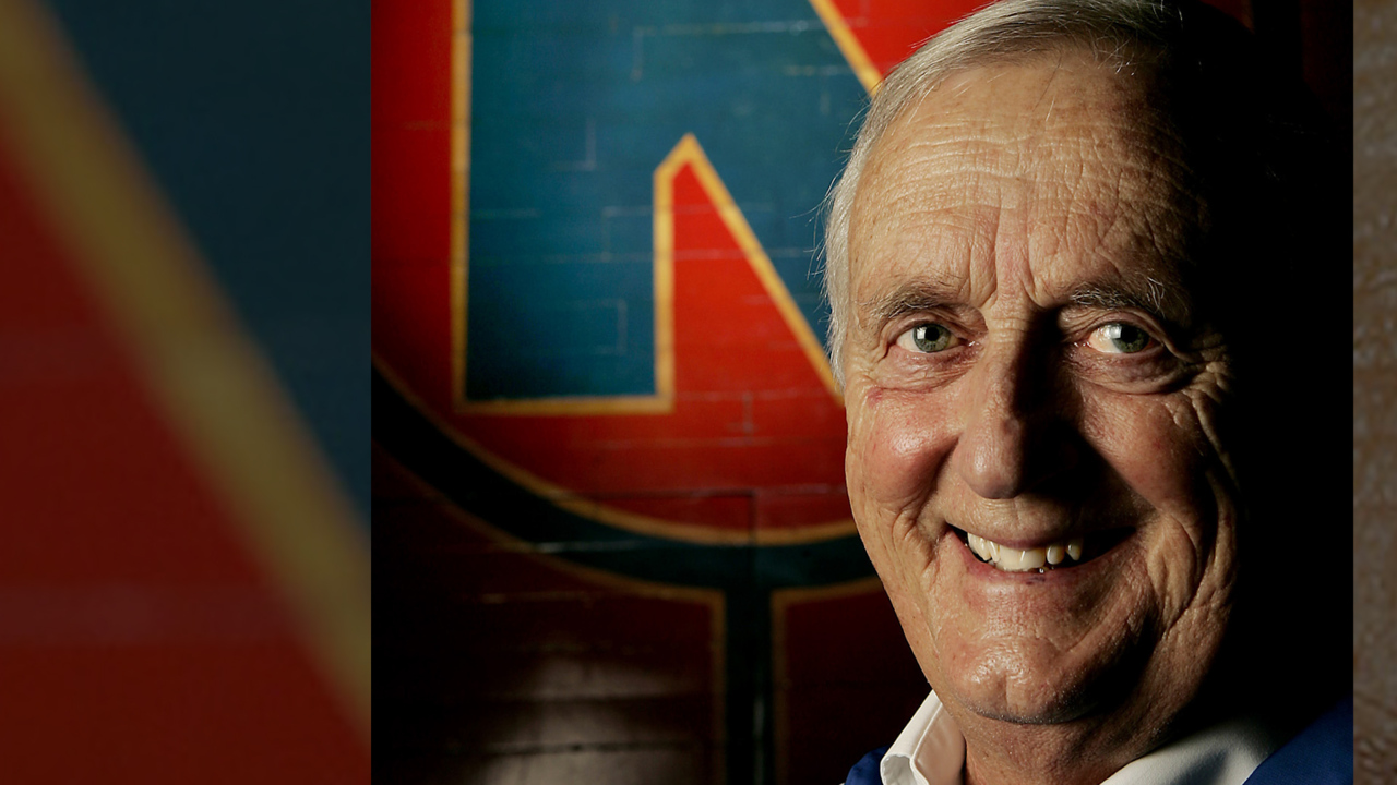 Max Falkenstien, voice of the KU Jayhawks for 60 years, dies at age 95