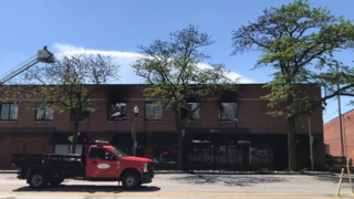 Careless cigarette disposal determined to be the cause North Kansas City office building fire