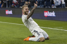 Sporting KC's Johnny Russell scores hat trick