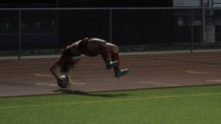 Maize High School scores on amazing flip throw-in