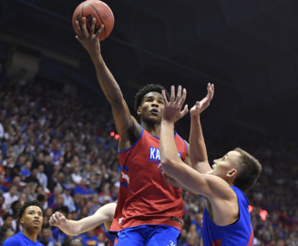 Watch highlights from KU's scrimmage at Friday night's Late Night in the Phog at Allen Fieldhouse