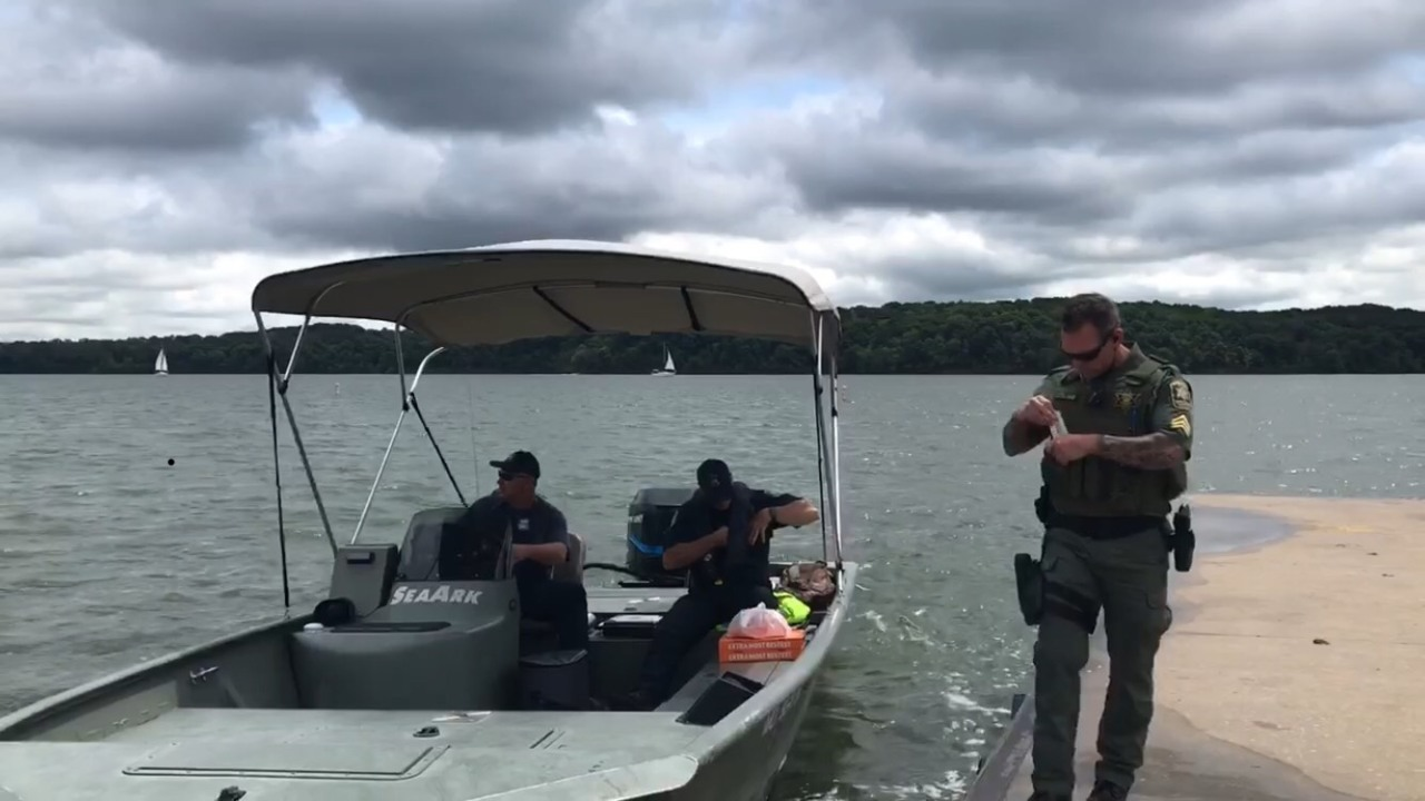 Search continues for man missing since Saturday at Lake Jacomo