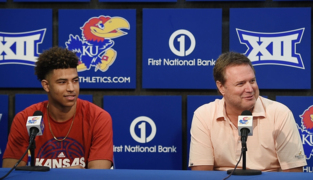 KU's Quentin Grimes and Bill Self on USA gold medal