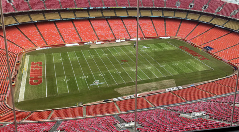 Chiefs not worried about field conditions in cold weather at Arrowhead