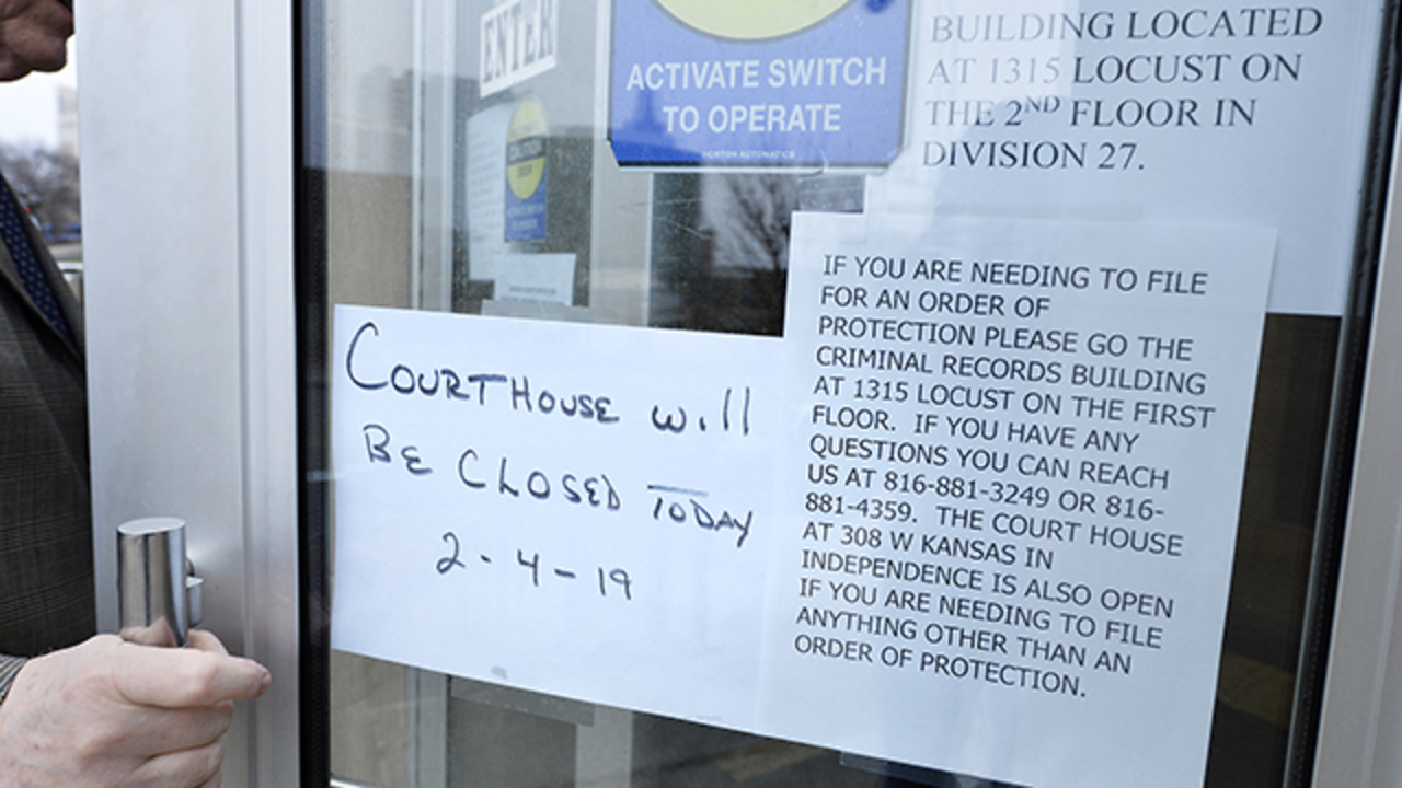 Water problems close Jackson County Courthouse for the week