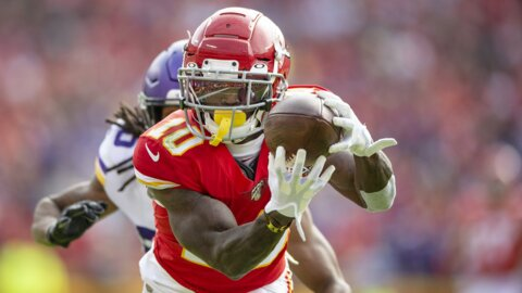 Chiefs' Tyreek Hill on victory over Vikings