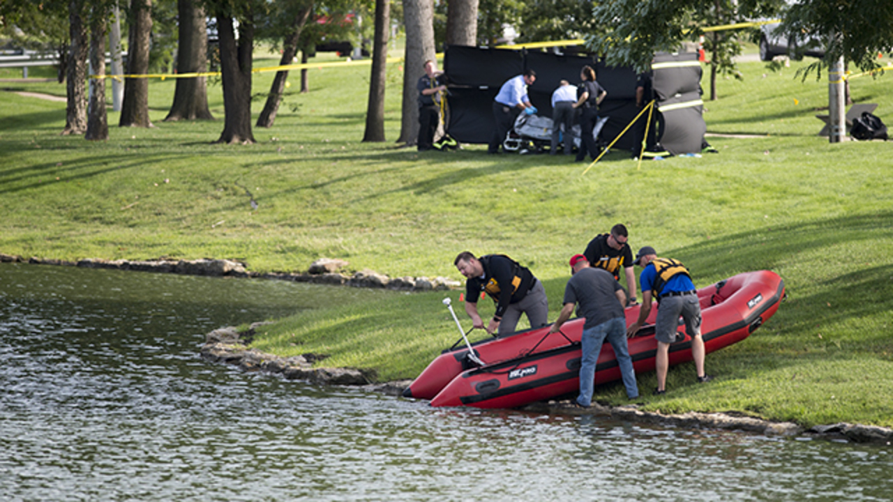 Police seek help identifying body found floating in pond on Metcalf in Overland Park