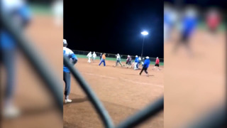 Saturday night softball brawl ends with a Garden City man's arrest