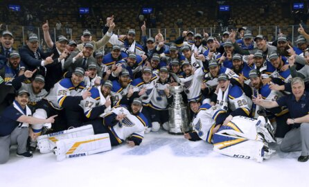Andy Reid, Patrick Mahomes congratulate Blues on winning Stanley Cup