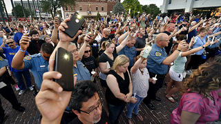 Vigil marks heartbreak in Kansas City, Kan., law enforcement community