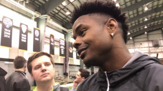 J'Mon Moore happy with his performance at Mizzou's pro day