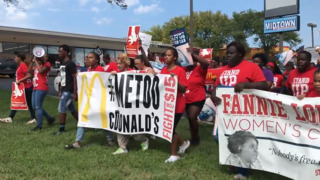 McDonald's workers go on strike, alleging widespread sexual harassment