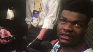 Udoka Azubuike on his first start since knee injury