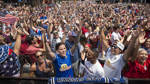 World Cup TV ratings: Where did KC rank nationally after U.S. victory in final?