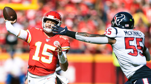 Kansas City Chiefs quarterback Patrick Mahomes discuss the team's second loss in a row