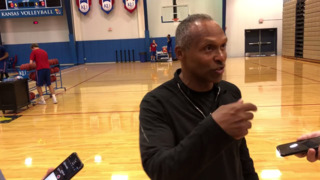 KU basketball camp update from assistant Norm Roberts