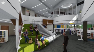 Tour Johnson County's Library of the future