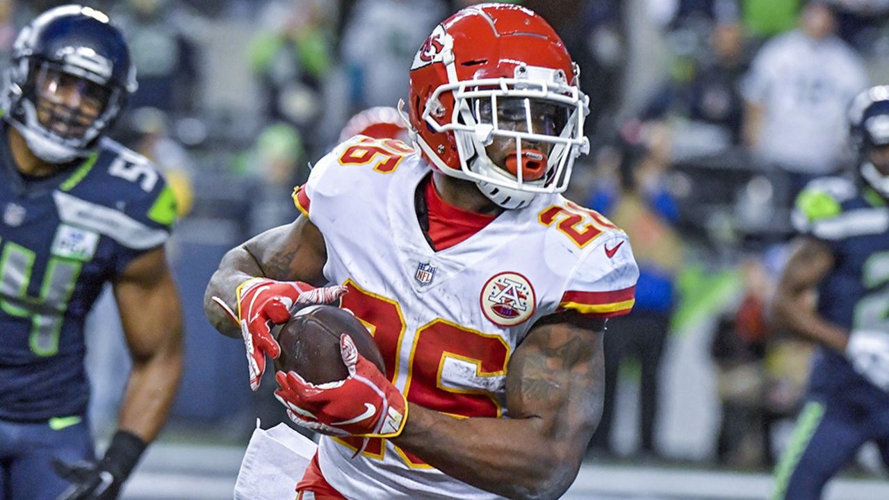 20899b20aef Chiefs running back Damien Williams takes center stage after long journey  to KC