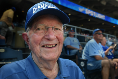 Here's why a 93-year-old World War II veteran won't stop going to KC Royals games