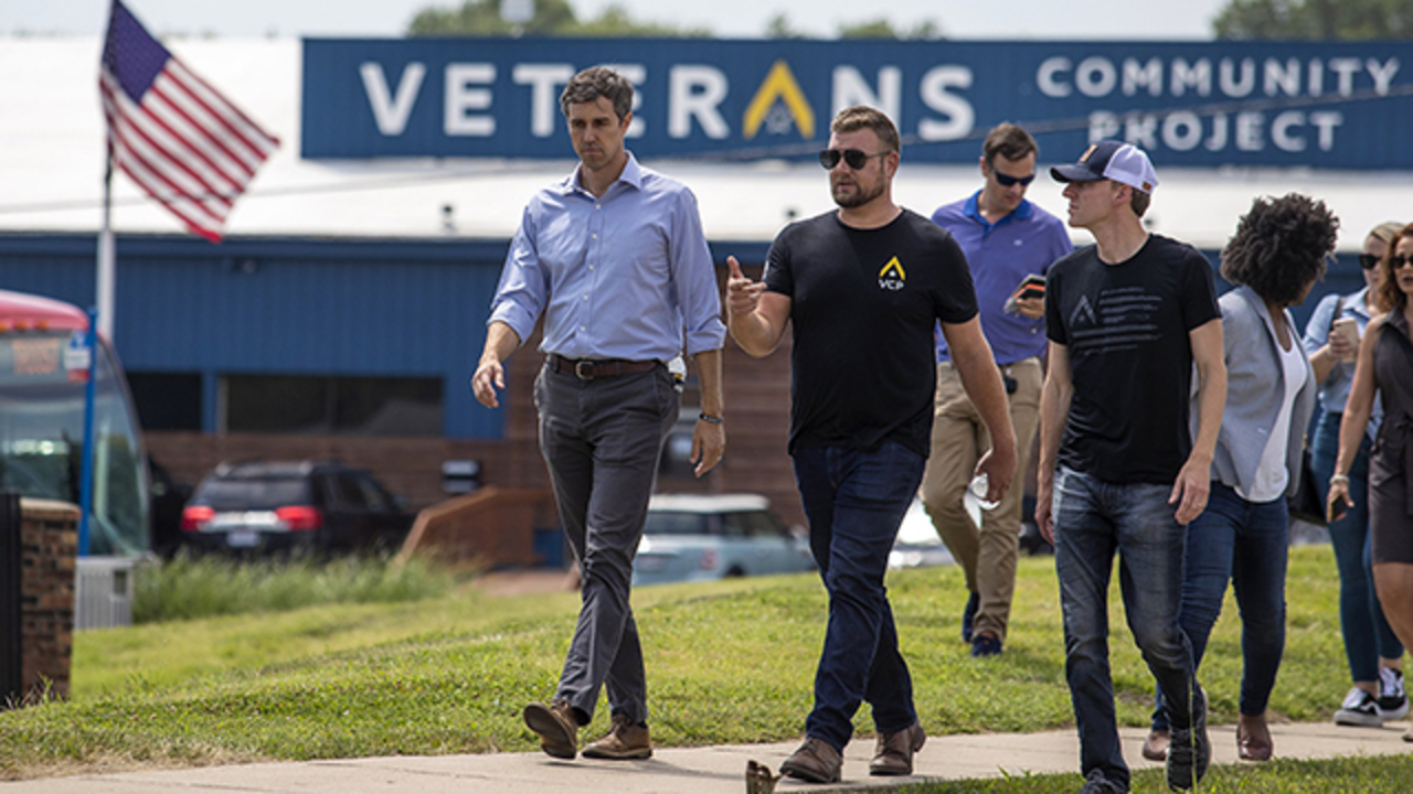 With Kander at the helm, KC veterans community now a stop on 2020 presidential trail