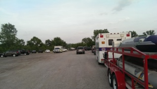 Emergency crews search Kansas River for missing person in De Soto