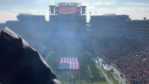 Anthem singer at Packers game skips line, forgets words
